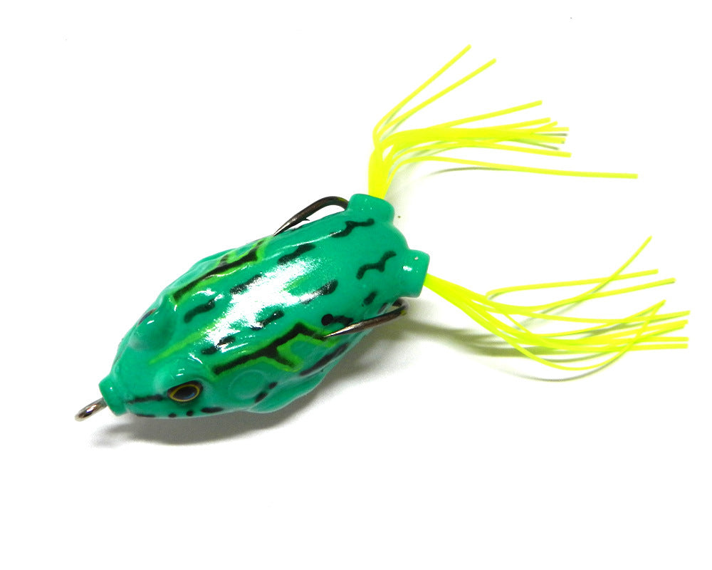 AMAZING>> 6pcs/Lot Fishing Lures Soft Artificial Bait 12.5g 5.5cm Frog Lures Lifelike Lure