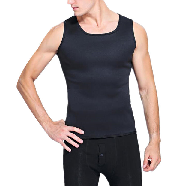 Male Fitness Neoprene Suana Vest - 50%OFF