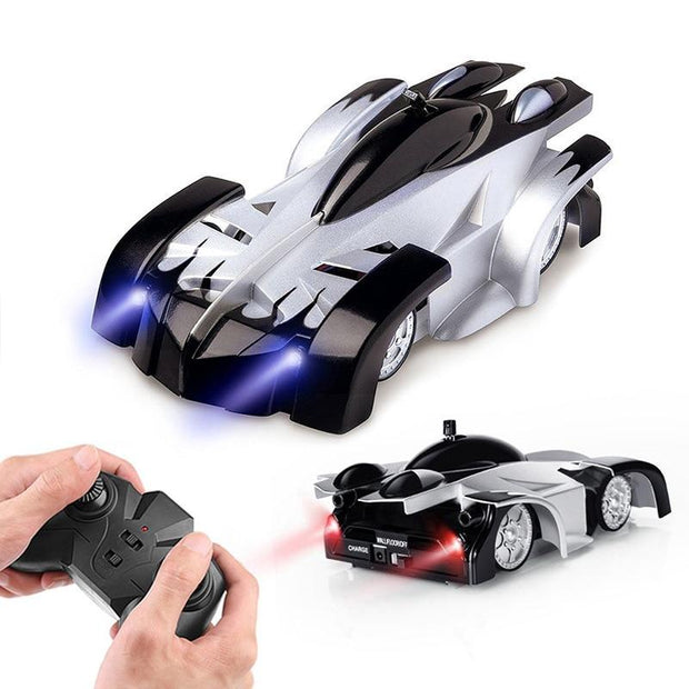 New Wall Climbing Cars Remote Control RC Racing Car Anti Gravity - Ikidso