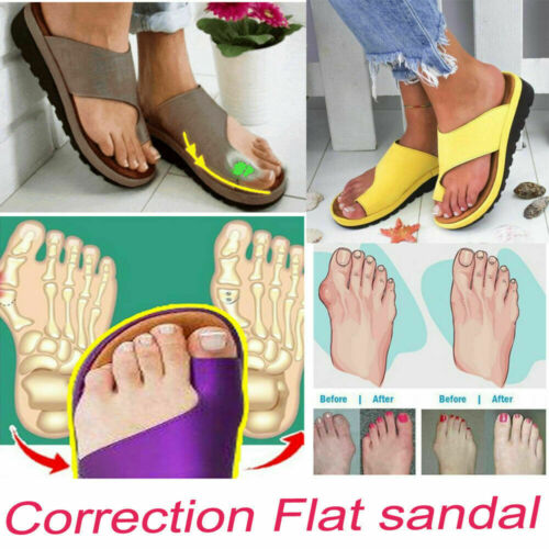 AMAZING ORTHOPEDIC  SANDAL comfortable for bunion correction leather