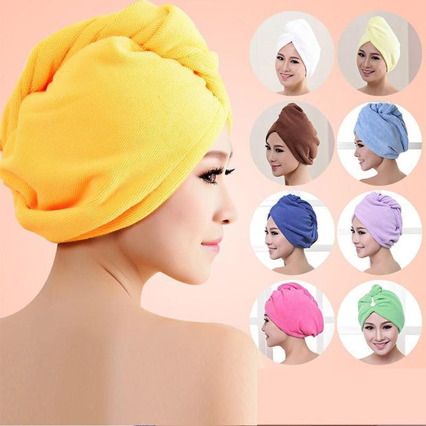 Sweet And Rosy™ Rapid Drying Hair Towel