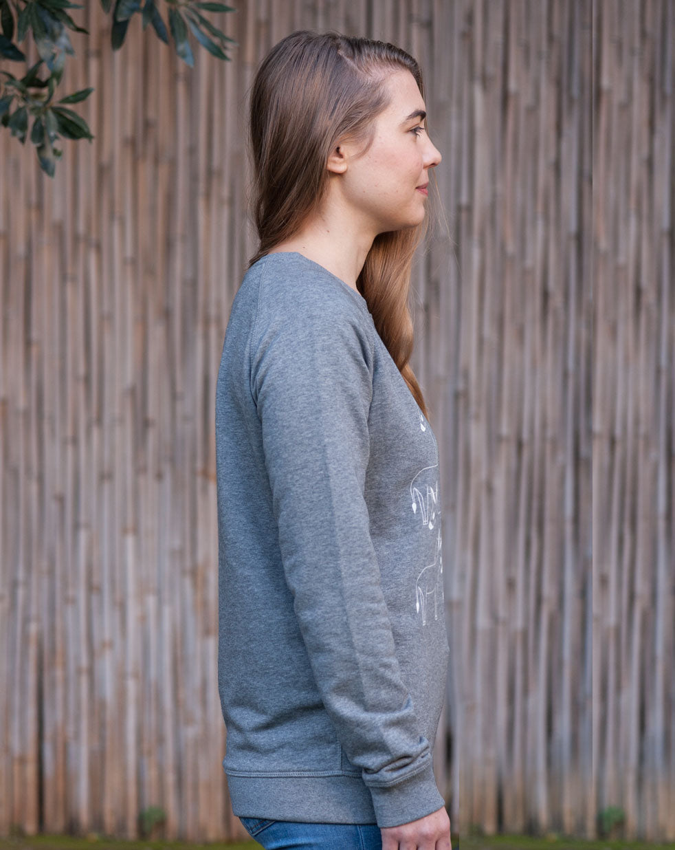 Women's sweatshirt | grey