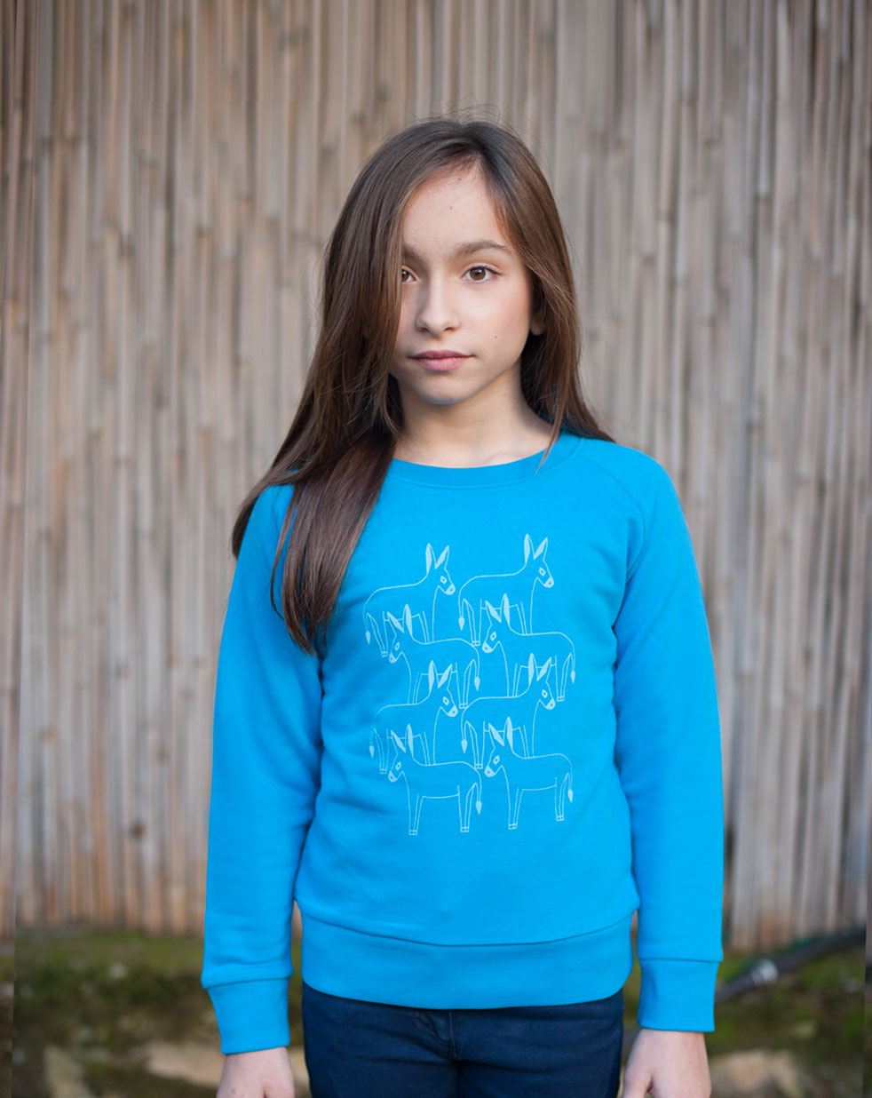 Kids sweatshirt | royal blue