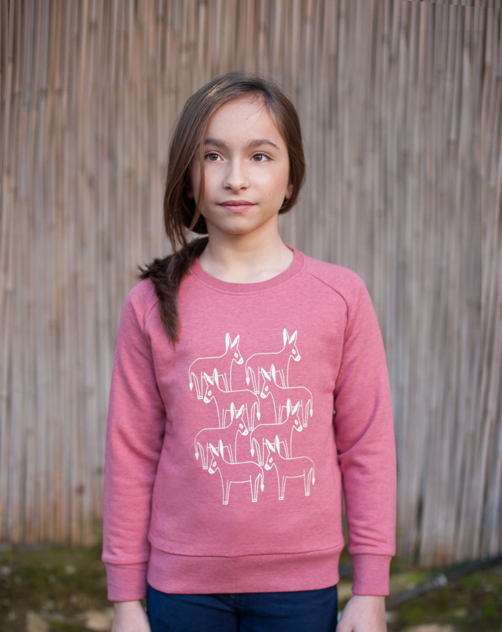 Kids sweatshirt | cranberry