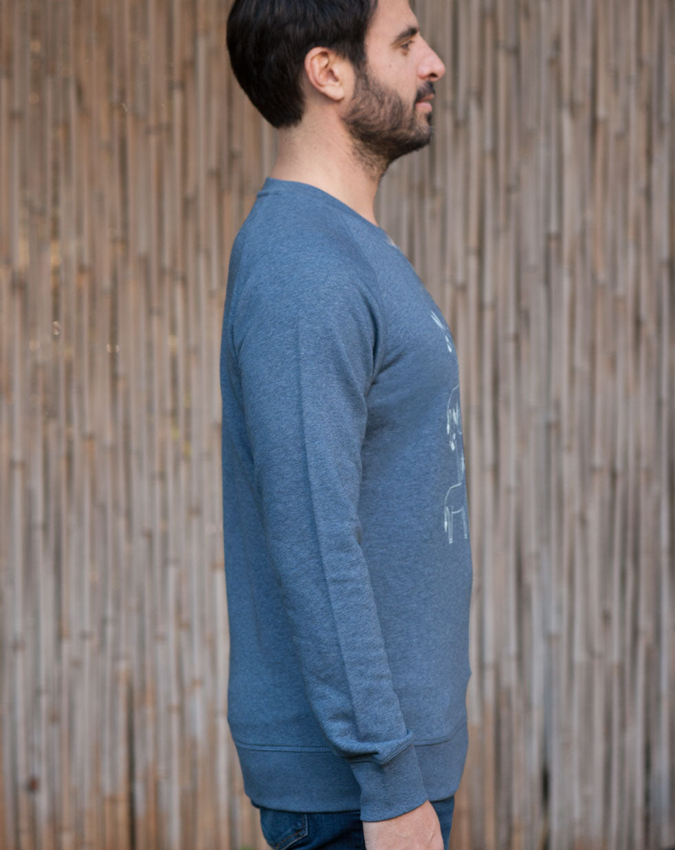 Men's Sweatshirt | denim