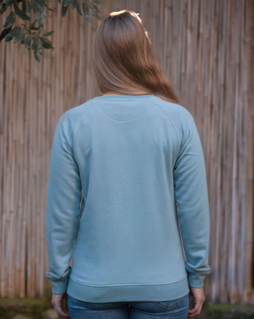 Women's sweatshirt | green teal