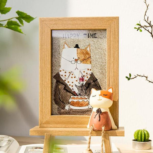 Easel Style Artsy Photo Frame