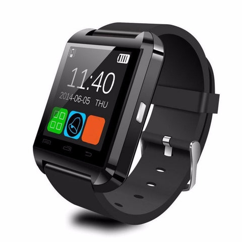 U8 Smart Watch Bluetooth V3.0 + EDR Smart Wrist Watch Phone Camera Card Mate Universal For Smart Phone