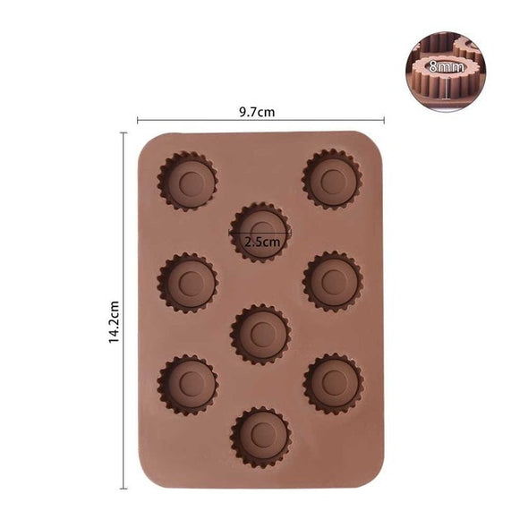 CHOCOLATE SPOON MOULD - as.stop