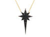 Midnight Starburst Pendant Necklace