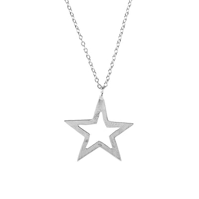 Cosmic Open Star Necklace
