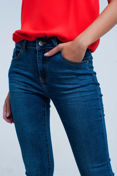 Super Skinny Push-Up Jeans