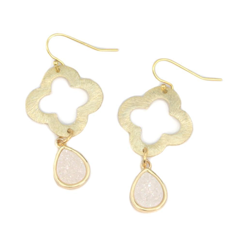 Lucky Druzy Earrings
