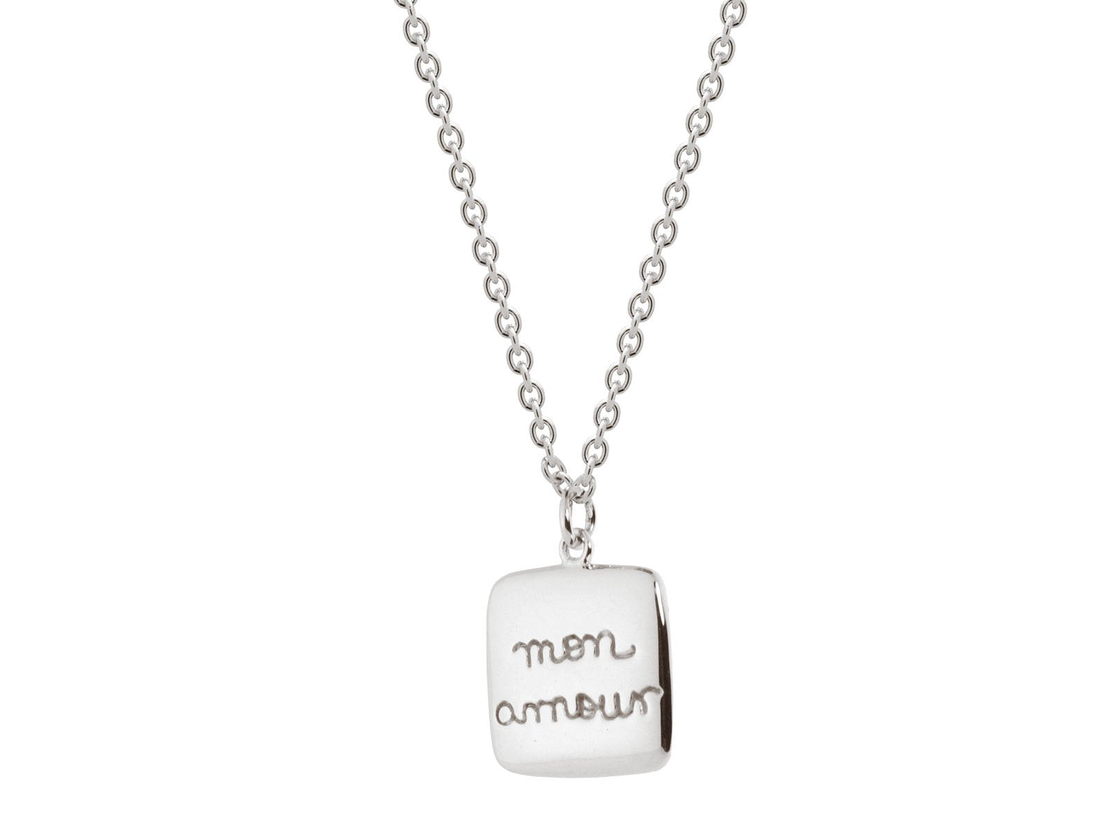 """Mon Amour"" Pendant Necklace"