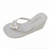Crystal Chelsea Heart - High Wedge