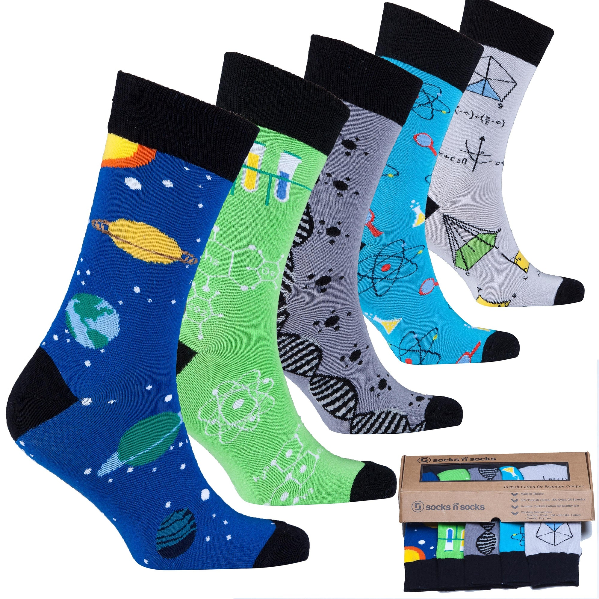 Nerd Series Socks