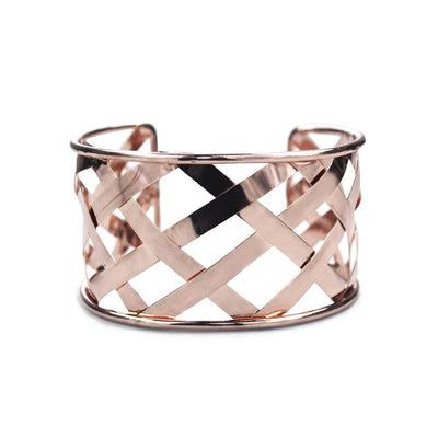 Cuffed  Bracelet Rose Gold
