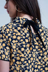 Shirt With Yellow Flowers Print
