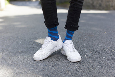 Solid Waves Socks