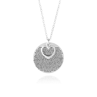 Words Of Love Necklace