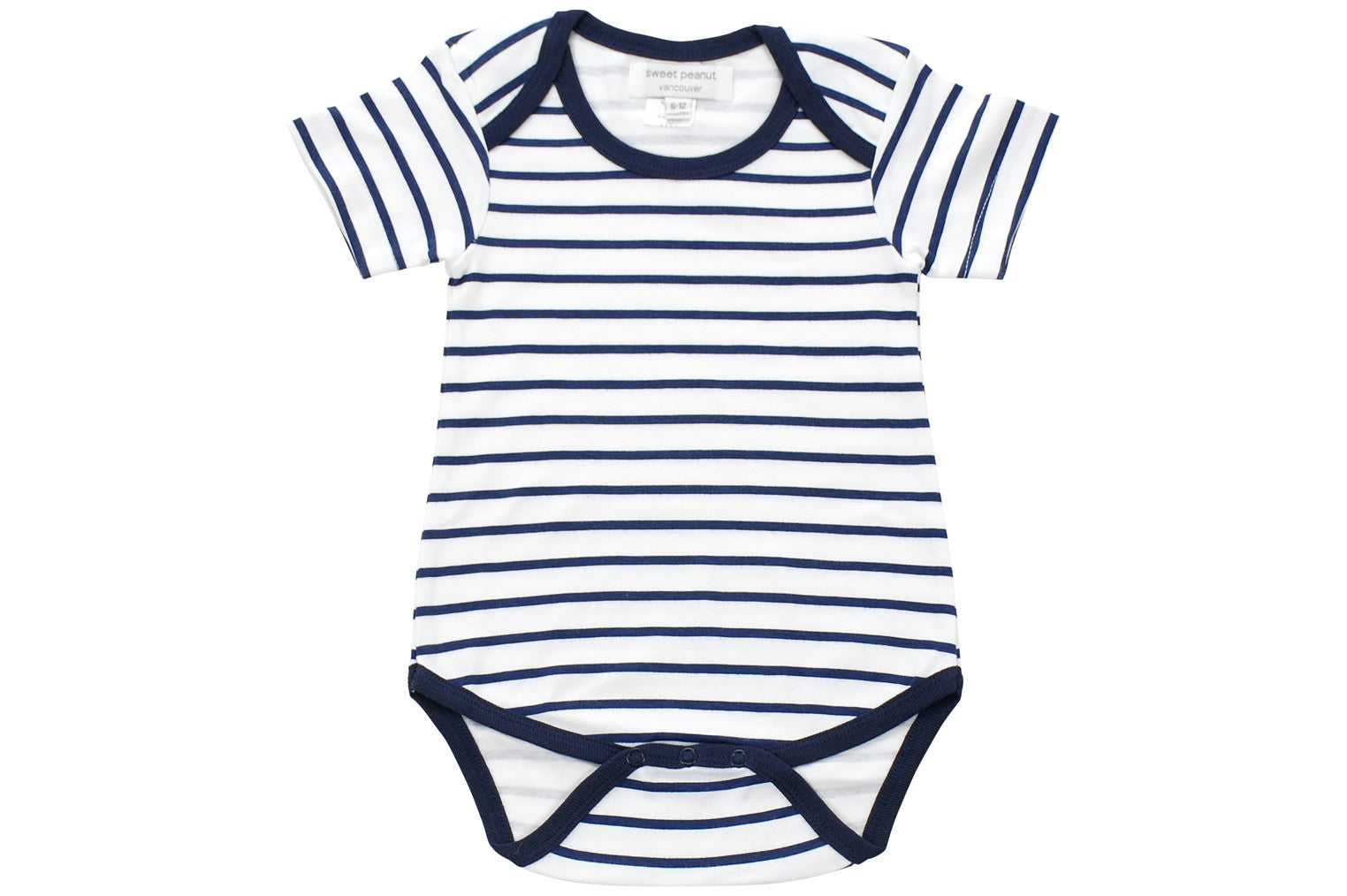 Onesie In Blue Marseille Stripe