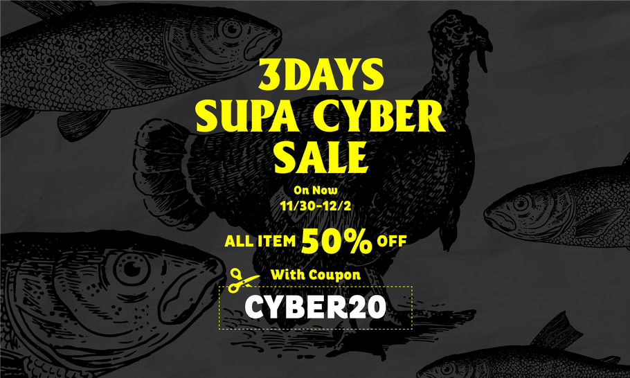 3DAY SUPA CYBER SALE