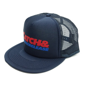 C&R MESH CAP [NAVY]