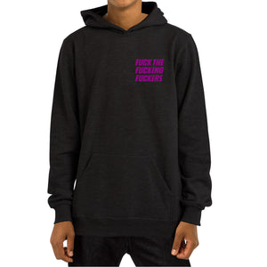 FFF HOODED [BLACK]
