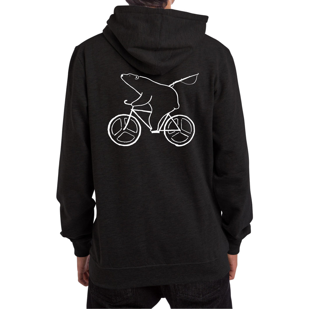 RIDE HOODED [BLACK]