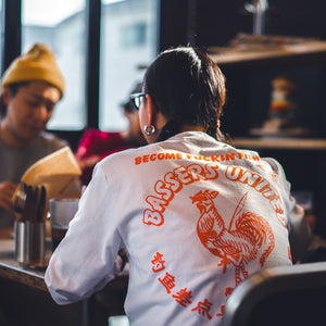 CHINA WARS L/S Tee [WHITE]