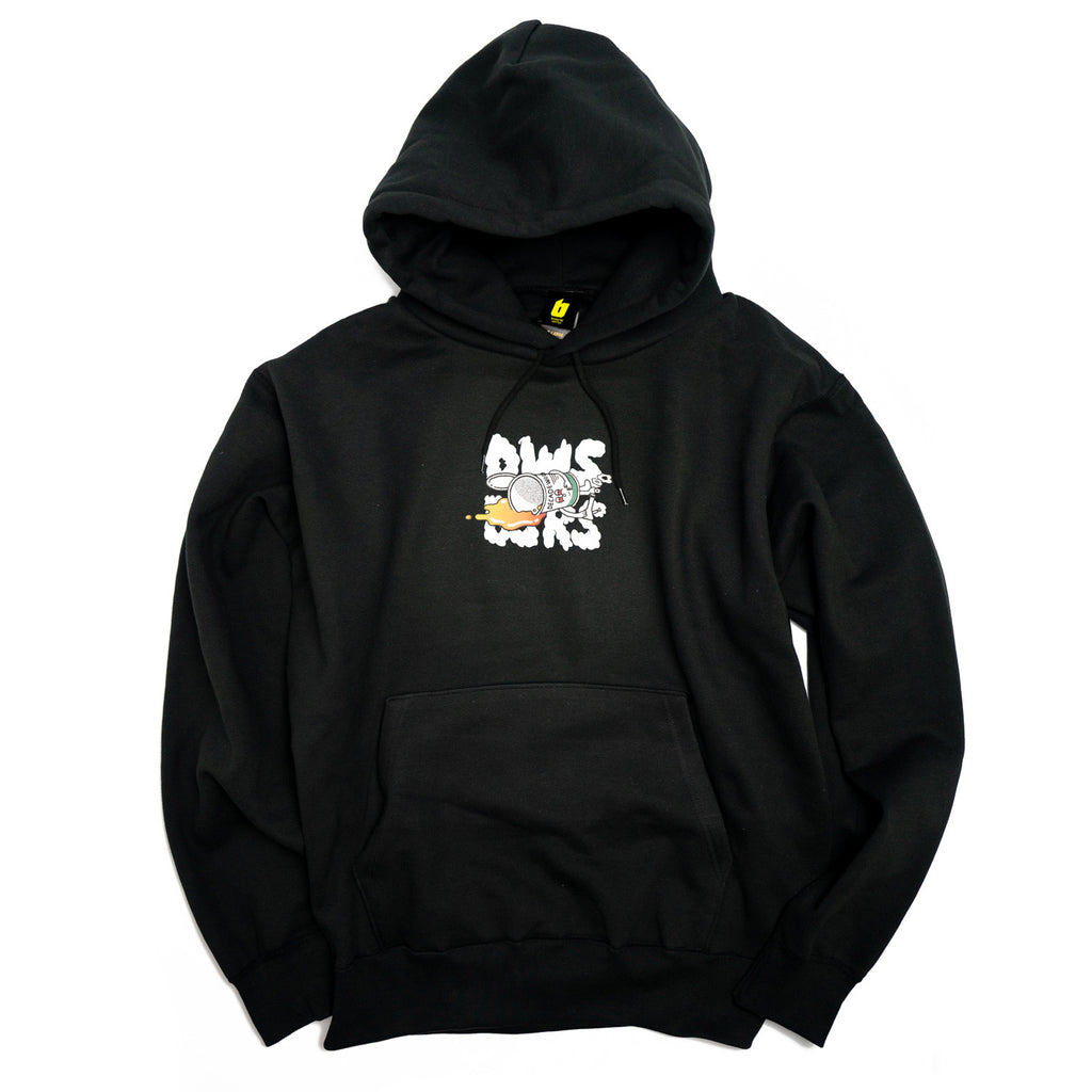 BSRSxDWS / DROP OUT HOODIE [BLACK]