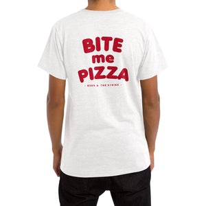 BITE me PIZZA Tee [WHITE]