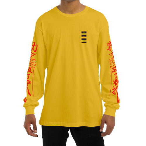PRAY L/S [YELLOW]