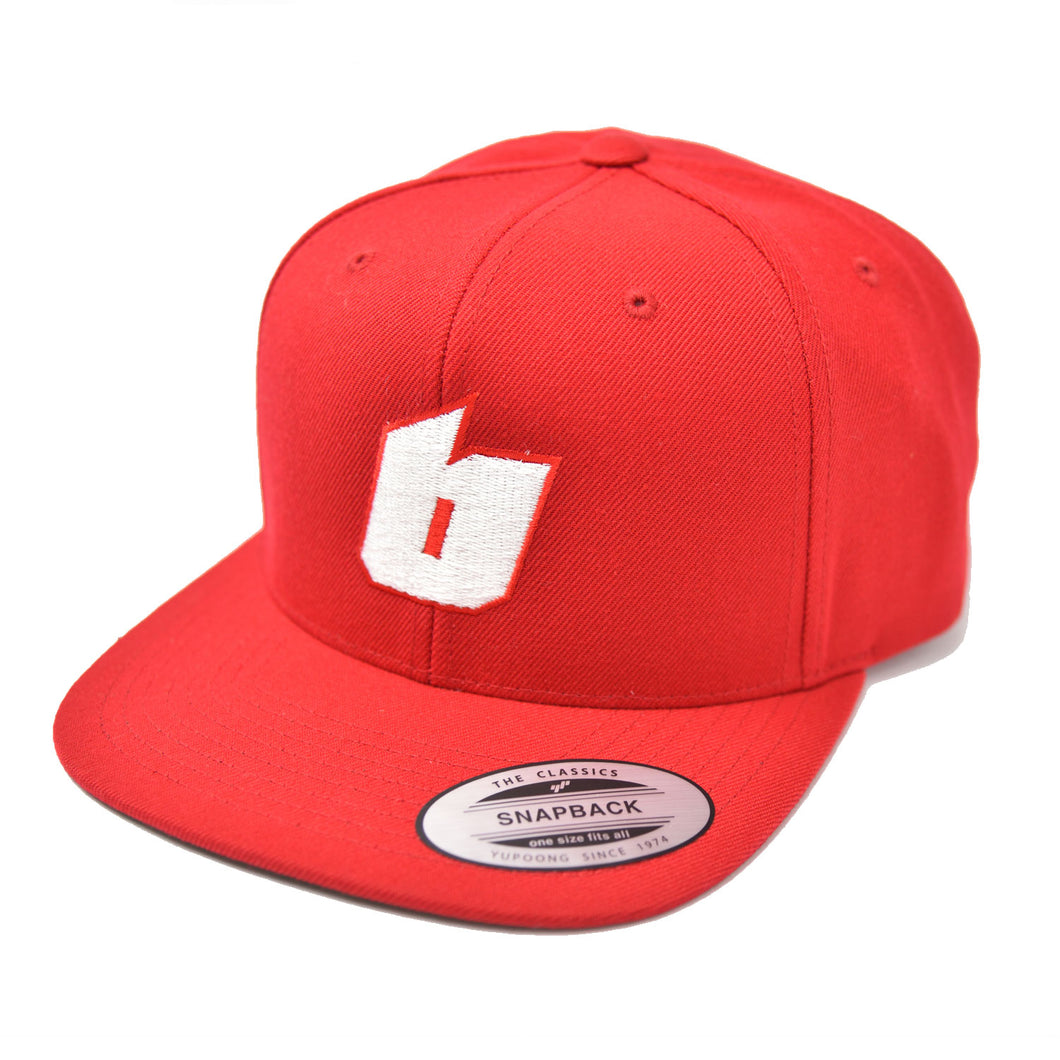 B-LOGO CAP [RED]