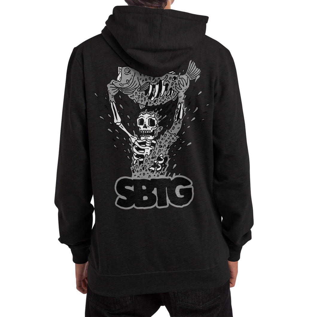 SABOTAGE HOODED [BLACK]