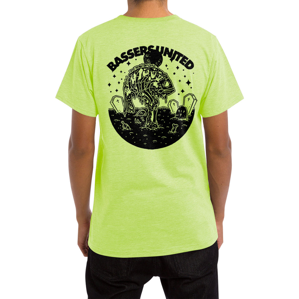 ZOMBASS Tee [LIME GREEN]