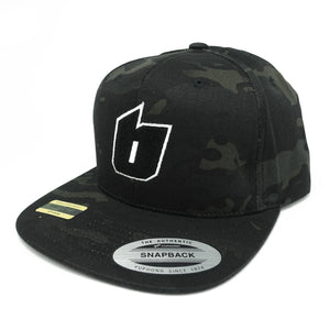 B LOGO CAP[MULTICAM Black]