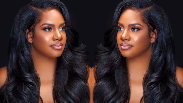HOW TO PUT ON A LACE FRONT WIG?