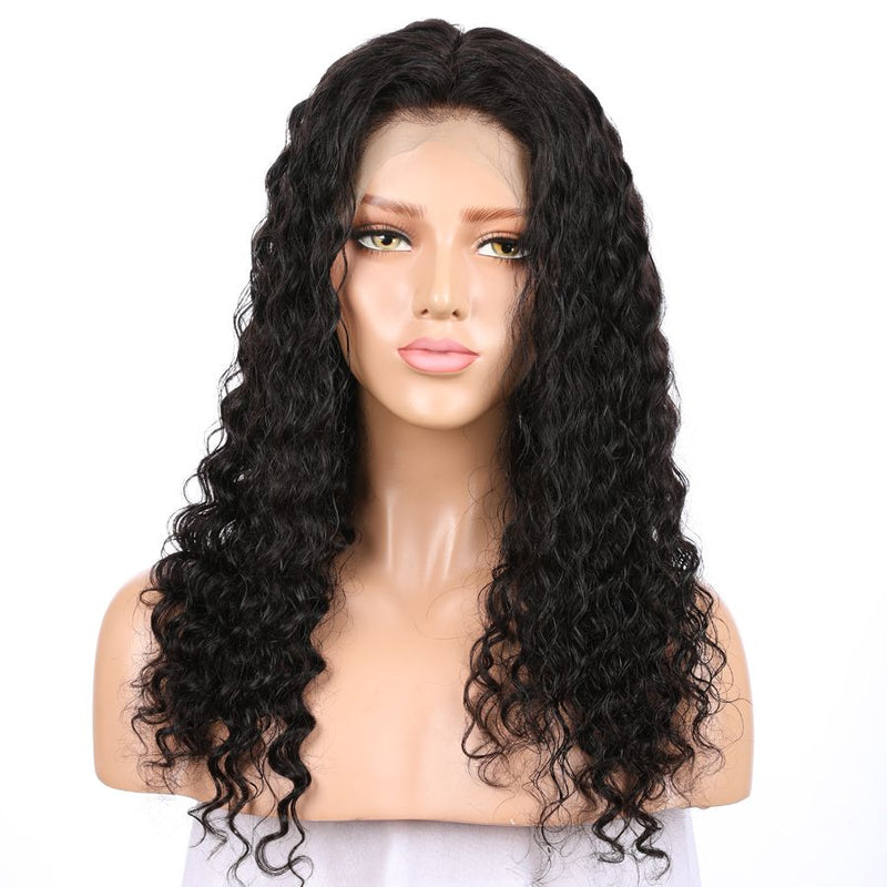 Jessica Hair Full Lace Human Hair Wigs Brazilian Remy Hair Loose Curly Wigs For Black Women(J10241)
