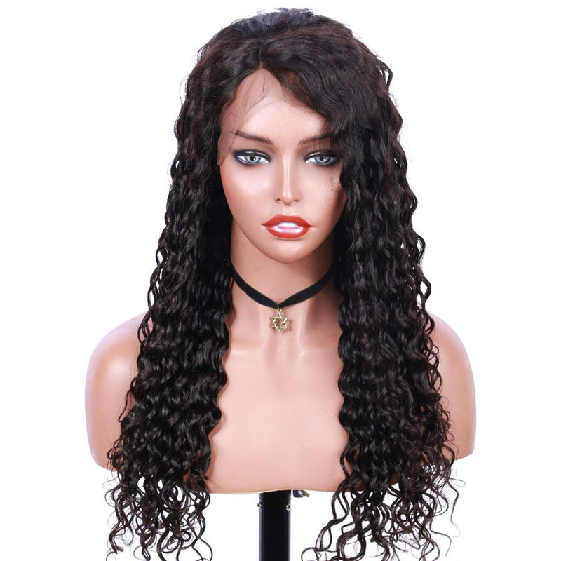 Hot Sale -- Same Day Fast Shipping Jessica Hair 13x6 Lace Front Wigs Human Hair Wigs For Black Women Curly Brazilian Remy Hair Pre Plucked(J10193)
