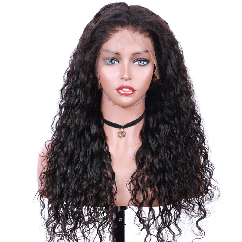 Jessica hair Human Hair water wave Remy Hair Full Lace Human Hair Wigs
