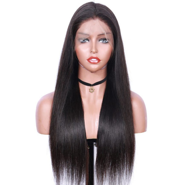 Jessica Hair Full Lace Wigs Straight Wigs For Black Women Pre Plucked Brazilian Human Hair Lace Wig(J10201)