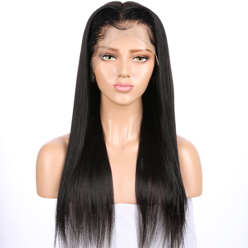 Jessica hair Silky Straight Remy Hair 360 Lace Frontal Human Hair Wigs