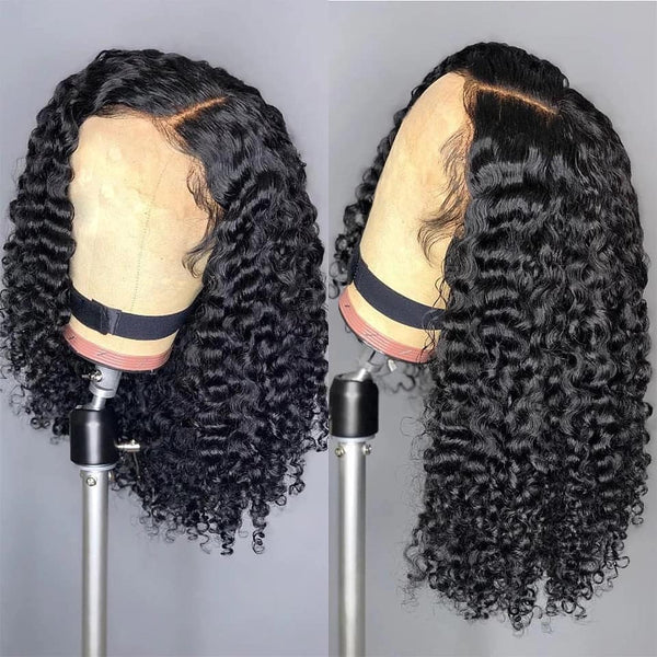 Pre-order Products --3 To 5 Days Shipping Jessica Hair Fake Scalp Wigs 13x6 Lace Front Wigs Human Hair Wigs Curly Wigs For Black Women Brazilian Virgin Hair Pre-Plucked Hairline With Baby Hair