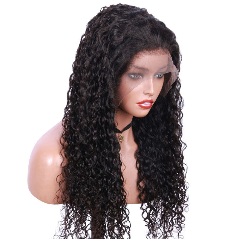 Jessica Hair Full Lace Human Hair Wigs Super Curly Remy Hair Wigs For Black Women (J0032)