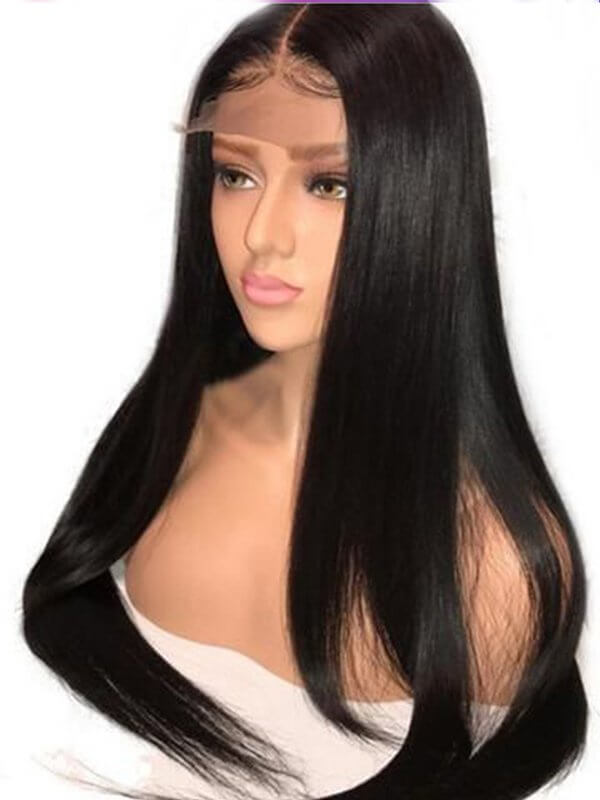 Jessica Hair 360 Lace Frontal Wigs For Black Women Remy Hair Silky Straight Wigs(J0021)