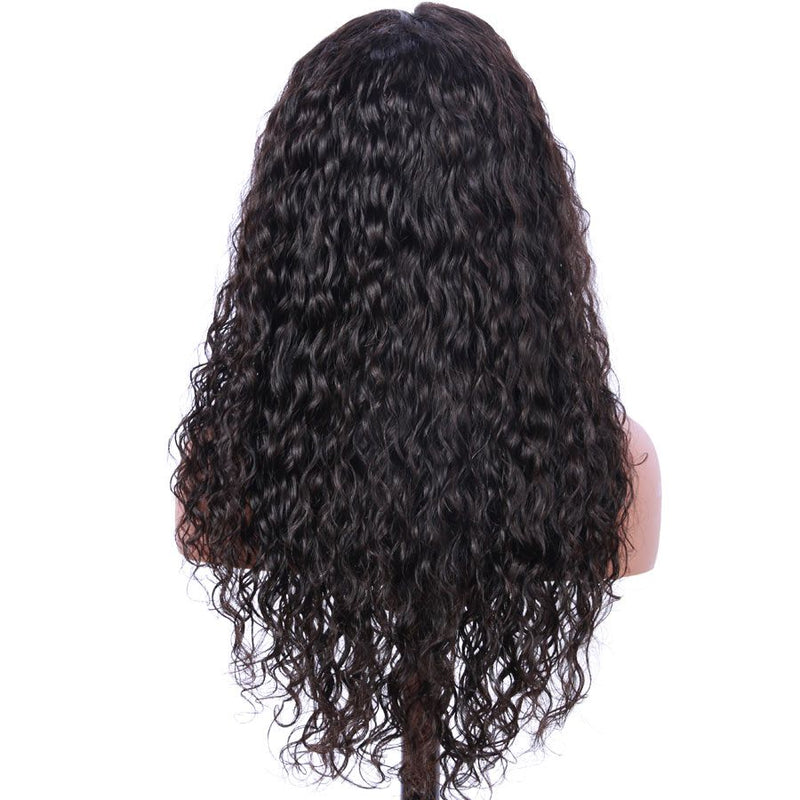 Jessica Hair Full Lace Human Hair Wigs Pre Plucked water wave Remy Hair Wigs For Black Women(J10231)