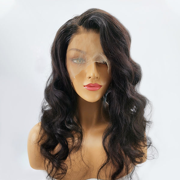Jessica Hair 13x6 Lace Front Wigs Body Wave Brazilian Real Human Hair Wigs For Black Women Natural Color Wigs with Baby Hair