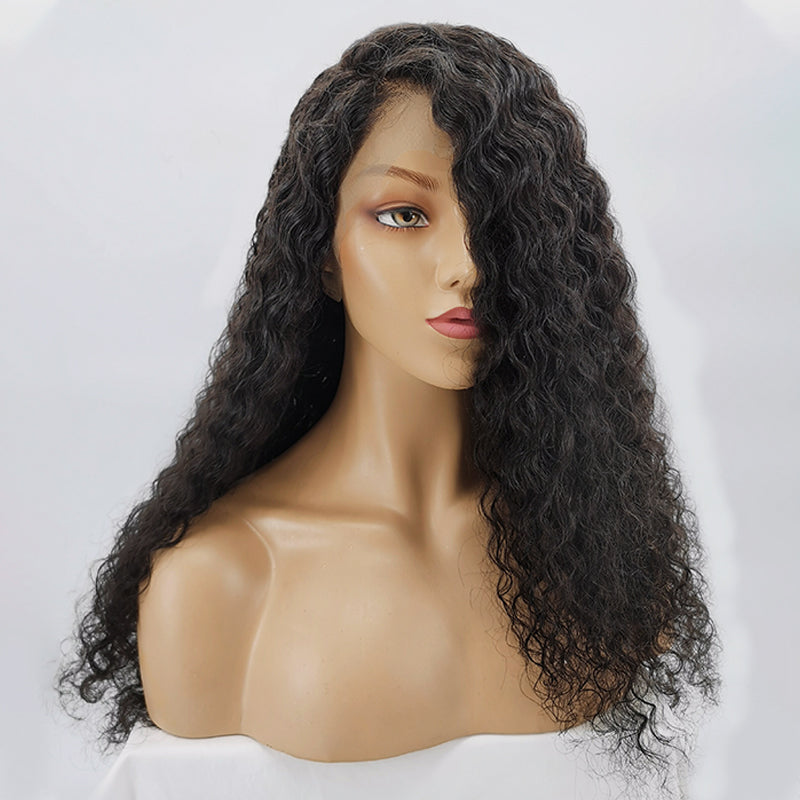 Jessica Hair 13x6 Lace Front Human Hair Wigs For Black Women Curly Wigs Brazilian Remy Human Hair Wig With Natural Hairline.