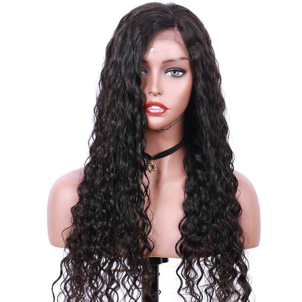 Jessica hair Human Hair Remy Hair Natural Wave 13x6 Lace Front Wigs